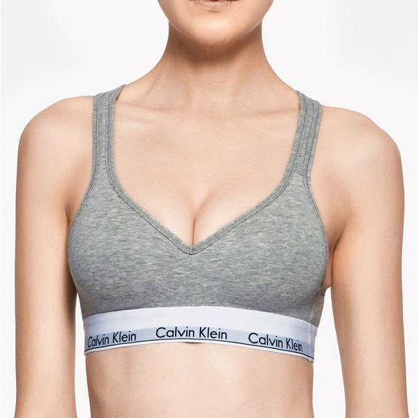 470dcddca41 Calvin Klein Modern Cotton Padded Bralette - Wireless Bras