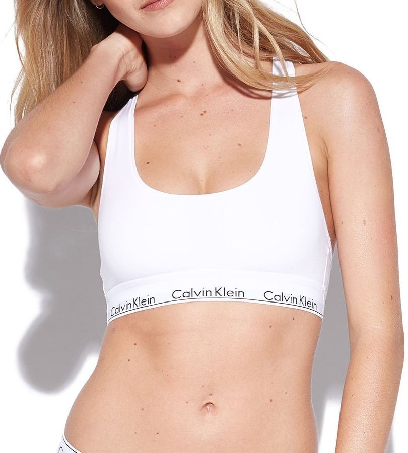 de1f5942f40 Calvin Klein Modern Cotton Bralette - Everyday Bras